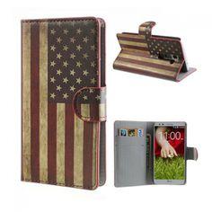 Atlanta (US Lippu) LG G2 Nahkakotelo - http://lux-case.fi/catalog/product/view/id/23702/s/atlanta-stars-stripes-lg-g2-leather-flip-case/category/19060/