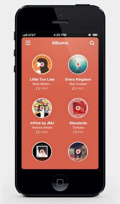 MusixApp by Scardi Shek - mobile app interface UI UX