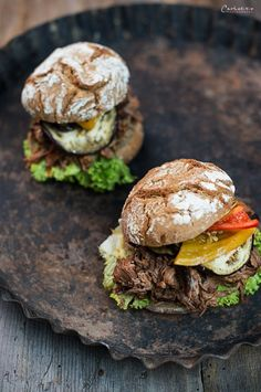 Pulled Beef, Burger Rezept, Burger recipe, burger idea, burger cooking, Burger Idee, pulled meat, puleld beef, pulled pork