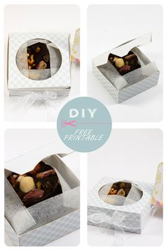 free printable chocolate box 13. Click on link for free template. http://dansmonbocal.com/tag/noel/