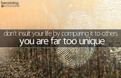 Don't insult your life...
