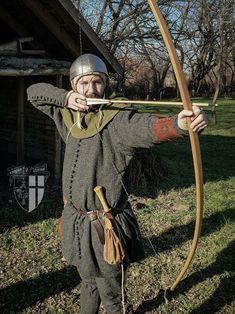 Medieval English bowman from Farkasok