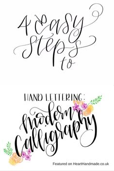 Modern Calligraphy - Learn To Hand Letter: 20 Fantastic Resources For Beginners + Bonus! A Free Printable Online Class/Student Planner