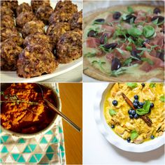 Paleo AIP Recipe Roundtable #128 | Phoenix Helix - *Featured Recipes: Hearty Meatballs, Tastes Like Pie Chicken, Pizza Capricciosa, and Roasted Carrot & Thyme Mash