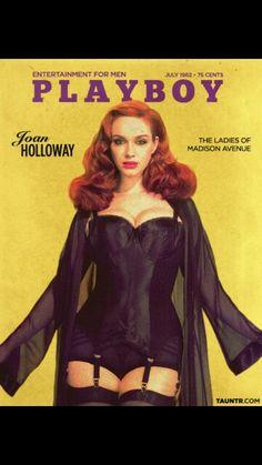 Christina Hendricks as Joan Holloway from Mad Men
