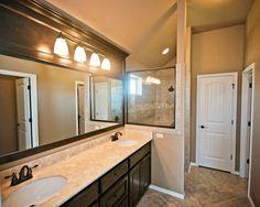 LOVE this Master bathroom   6120NW 158th St., Edmond, OK | Deer Creek Park