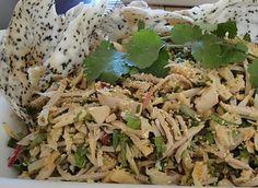 Young Jackfruit and Lotus Root Salad