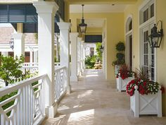 Love this look. London Bay Custom Home at Grey Oaks - traditional - porch - other metro - by London Bay Homes
