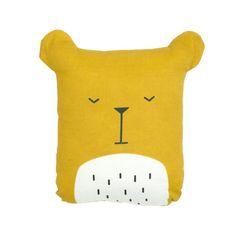 """Süßes kleines Kissen """"Lazy Bear"""" von Fabelab zum Kuscheln oder Dekorieren…"""