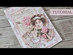 Μίνι άλμπουμ με ένα χαρτί scrapbooking Tutorial # 3   Μαρίνα Μανιώτη - YouTube Mini Album Tutorial, Mini Albums, My Photos, Frame, Journals, Youtube, Projects, Crafting, Scrapbooking
