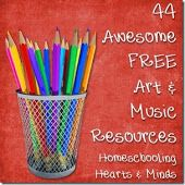 Homeschooling Hearts & Minds: 44 Awesome Free Resources to Study Art and Music!