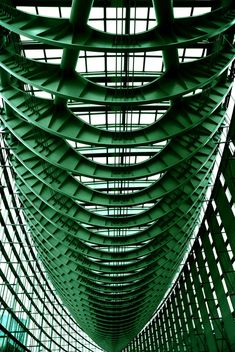 Steel Atrium Trussing Structure #architecture #structure #engineering