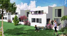 ensemble de 7 maisons (1T3 et 6 T4) à vendre à Royan (Charente Maritime) proche plages, commerces et écoles. Visitez notre site web: http://www.groupe-littoral.com/