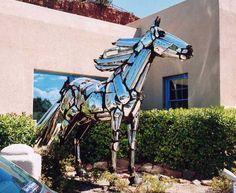 Auto Parts Horse