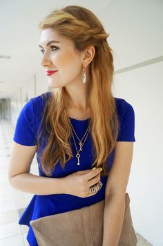 7 Quick but Cute Hairstyles for Work | Glam Bistro