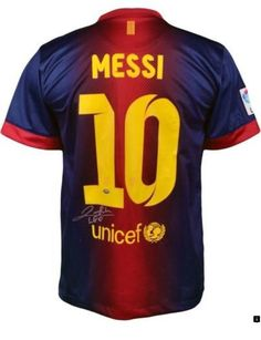 85f961ee1 Lionel Messi Autographed Barcelona Jersey I would do anything for this  jersey.
