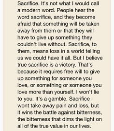 Sacrifice (quote from Beautiful Creatures) Tv Quotes, Great Quotes, Life Quotes, Love Sacrifice Quotes, Beautiful Creatures Quotes, Modern Words, Beautiful Mind, Love Poems, English Quotes