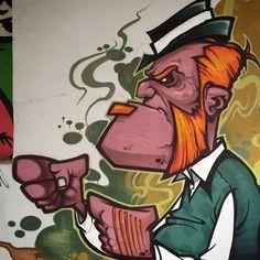 Murals Street Art, Graffiti Murals, Mural Art, Street Art Graffiti, Cartoon Drawings, Art Drawings, Graffiti Characters, Graffiti Drawing, Tag Art