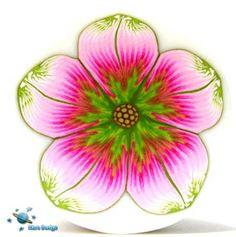 Pink - green flower cane   Flickr - Photo Sharing!