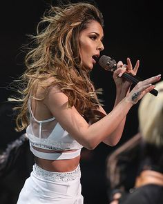 Cheryl Fernandez-Versini didn't please everyone with her performance of I Don't Care on The X Factor this weekend [Splash]