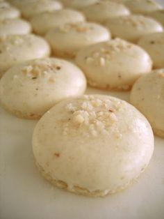 Sabor Saudade: Macarons de castanha do Pará (*) para maltratar meu coração...