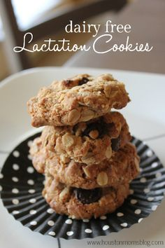 Dairy Free Lactation Cookies Recipe | Houston Moms Blog
