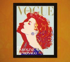 Couverture de Vogue imprimé Andy Warhol 1984 - mode Vintage Illustration mode Wall Art mode impression mode féminine Art BUY 3 GET 1 bp gratuit par VintageWallGraphics sur Etsy https://www.etsy.com/ca-fr/listing/242509135/couverture-de-vogue-imprime-andy-warhol