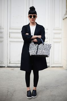 cool Street Style - Paris Fashion Week, Womenswear S/S 2015 : September 25th Check more at http://oddstuffmagazine.com/street-style-paris-fashion-week-womenswear-ss-2015-september-25th.html