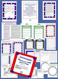 Memorial Day Tribute (No Prep) for Grades 4-7 This Memorial Day No Prep Bundle is all you will need to help your 4-7 grade students learn and understand what Memorial Day is all about. This is a personalized product to help make the holiday real for your