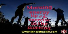 Exercise in the morning #health #fitness #fitfam