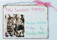 Küchen Schild  von Un-Art-Tick auf DaWanda.com