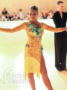 Exclusive designer dresses for Latin dancers - Grand Amour