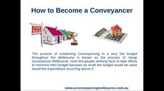 Conveyancing Melbourne gives a moderate charges structure extent to their everything customers and give all quality administration in property exchange of both cases offering a property or purchasing a property.