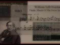William Tell Overture: Finale, March Of The Swiss Soldiers (Gioachino Rossini) Syntheway Strings VST #WilliamTellOverture #MarchOfTheSwissSoldiers #GioachinoRossini #WilliamTell #Syntheway #Strings #Brass #Flute #VSTi http://vid.me/9uNI