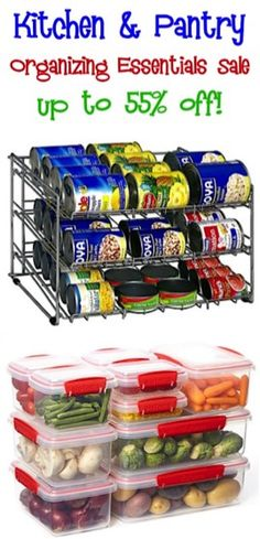 Kitchen and Pantry Organizing Essentials Sale