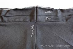 verev etek 5 Couture, Sewing Patterns, Skirts, Cardio, Fashion, Vestidos, Skirt, Amigurumi, Patterns