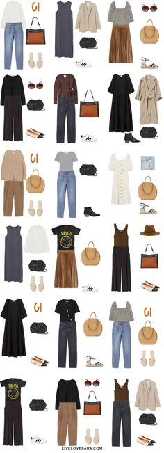 How to Build a Budget Capsule Wardrobe for Spring and Summer - livelovesara - Source by nellialtergot - Summer Outfits, Casual Outfits, Fashion Outfits, Womens Fashion, Fashion Fall, Capsule Wardrobe Mom, Neutral Outfit, Ootd, Fashion Looks