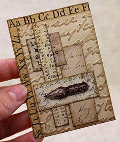 From Agnieszka Danek Wisniak, aka Arte Banale, in Wieliczka, southeast of Kraków, Małopolska, Poland. http://artebanale.blogspot.com