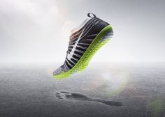 Nike Free Hyperfeel running shoe with Flyknit #design #nike