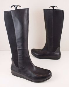79ccf827e49 FitFlop Dueboot Tall Black Leather Stretch Women s Boots EU 41 US 9   fashion  clothing  shoes  accessories  womensshoes  boots (ebay link)