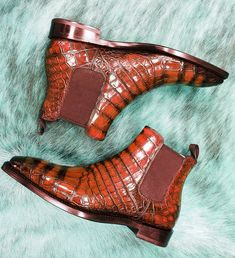 Men's Boots, Dress With Boots, Cowboy Boots, Alligator Boots, Goodyear Welt, Well Dressed Men, Toe Shape, Metal Buckles, Shoes Men