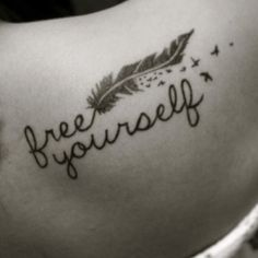 Love this. This is gonna be a must, but on the lower left side of my back (: