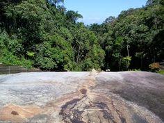 Cacheira das sete quedas, Parati, Brasil, férias/2015. Difícil acesso.