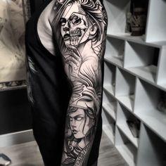 Tatuagem sketch: artistas brasileiros para você seguir! - Blog Tattoo2me Sketch, Portrait, Tattoos, Blog, New Tattoos, Tattoo, Artists, Style, Sketch Drawing
