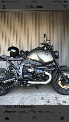 Bike Bmw, Moto Bike, Scrambler Motorcycle, Bmw Motorcycles, Custom Bmw, Custom Bikes, Bmw R1100gs, Car Camper, Bmw Boxer