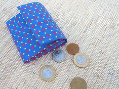 Porta-moedas com artesanato e reciclagem de caixa de leite