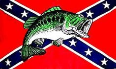CONFEDERATE FLAG REBEL FISH by Sportsworld. $0.95. Flag for inside or out. Vivid Colors 3x5 ft.