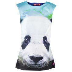 Someone jurk met voorop een prachtige panda animal print | Olliewood Online Kinderkleding en Babykleding