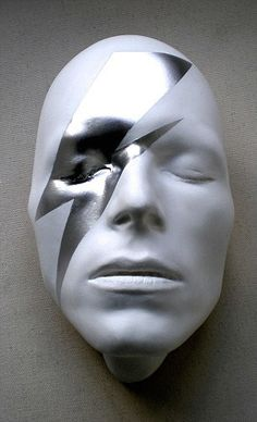 David Bowie buys collection of artistic Bowie masks