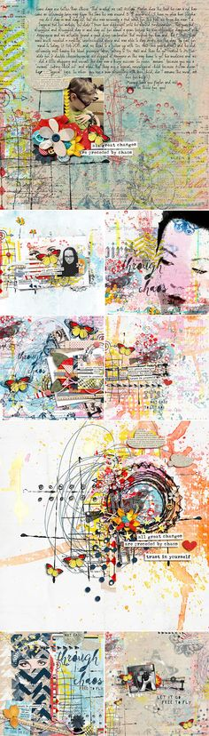 CT INSPIRATION using Through Chaos by Lauren Grier & Studio Basic
